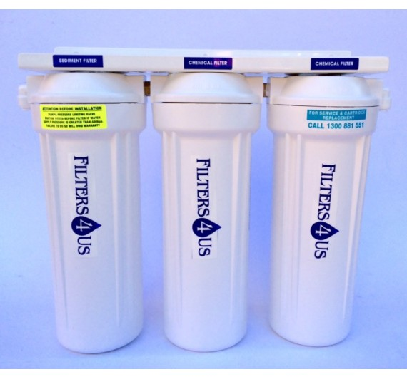 Powerful Three Stage Water Filter